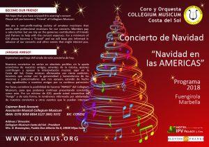 Programme Collegium Musicum