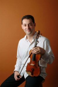 Geoffrey Silver Violin